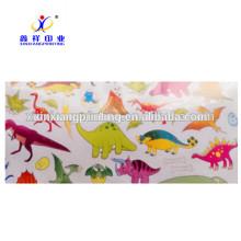 XinXiang Tamaño de acuerdo a su demanda de etiquetas de rollo de etiqueta engomada de impresión de papel
