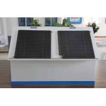 Collecteur solaire utilisé dans la région extrêmement froide de Sibérie pour le groupe Greeen House of Belaya Dacha