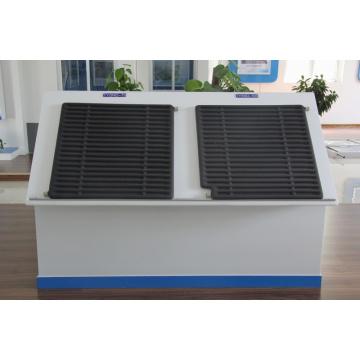 Coletor Solar Usado na Região Extremamente Fria da Sibéria para Greeen House of Belaya Dacha Group