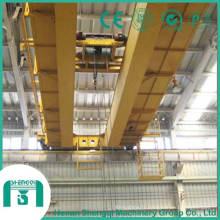 Double grue électrique de pont de poutre anti-déflagrante 16/3 tonnes
