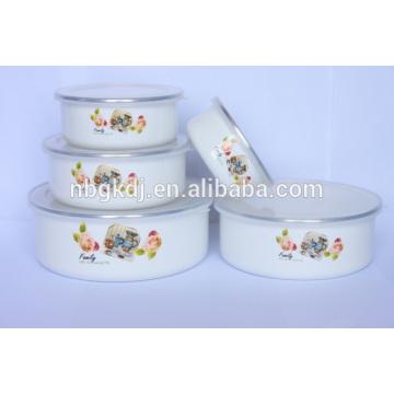 enamel coating ice bowl sets & enamelware wholesale eating bowl