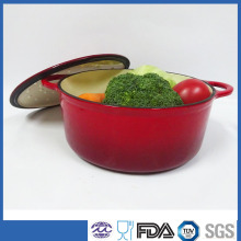 cast iron enamel pot/cast iron saucepot