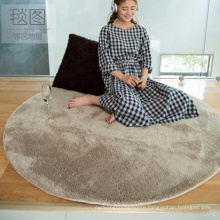 microfiber polyester shaggy rug for living colored