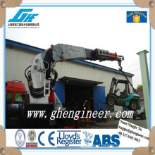 knuckle boom truck mounted crane