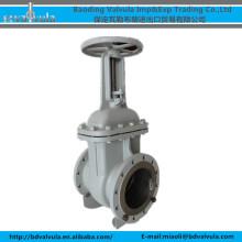 DN250 WCB válvula de compuerta