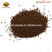 El filtro de agua quita el precio de mercado de los medios del filtro de la arena del manganeso