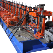 8MF Electric Cabinet Frame Roll Forming Machine