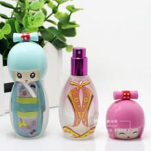 Moda bonito corpo forma vidro frascos de perfume, frasco cosmético para o óleo da fragrância