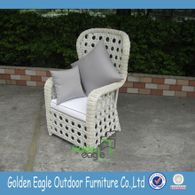 Popular SGS PE rattan garden leisure chair