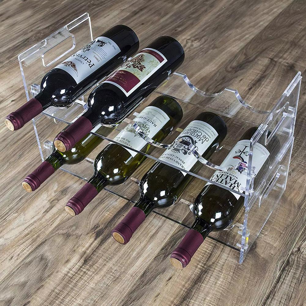 Wine Bottle Display Shelf