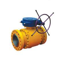 Ditempa baja Trunnion Ball Valve