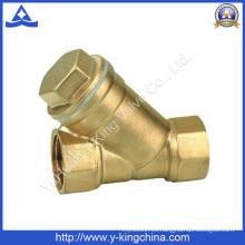 Forjando el agua de cobre amarillo Válvula del filtro de Y (YD-3005)