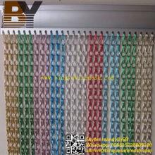 Pantalla de mosca de enlace de cadena de aluminio del mercado del Reino