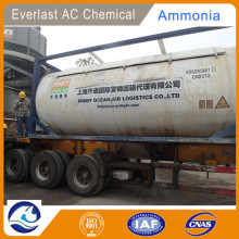 Jordan Anhydrous Ammonia Gas in Cylinders & ISO Tank