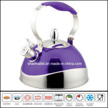 Half Color Stainless Steel Whistling Kettle