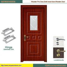 Puerta plegable de PVC Puerta MDF plegable