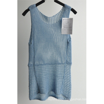 Acrylic Nylon Knit Ladies Sun-Top Sweater
