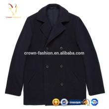 Новый Европейский зима мода мужская шерстяное пальто