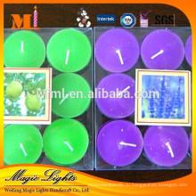 Горячая Продажа высокого качества ароматические свечи tealight в алюминиевые чашки