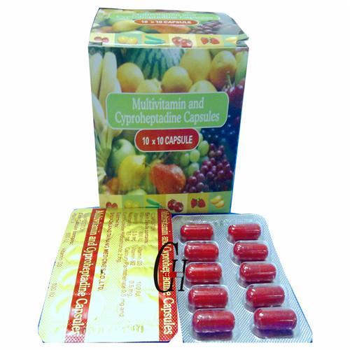 Multivitamin & Cyproheptadine Capsules