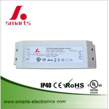 A CC da CA do motorista do diodo emissor de luz de DALI 30w 0-500ma 35-60v conduziu a fonte de alimentação para a iluminação conduzida interna