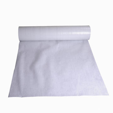 Cheap printed cotton fabric felt wool fabric black paint cover white polyester filter fabric