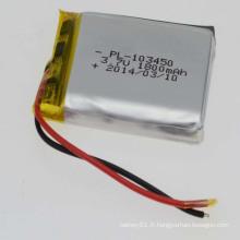 103450 3.7V 1800mAh Li-Polymer Battery