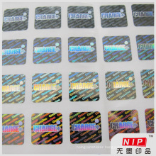 Secure Valid Authentic Genuine Security Hologram Sticker
