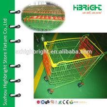 Стильная корзина для супермаркетов