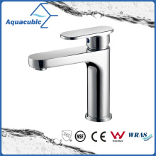 Upc Bathroom Single Handle Robinet de lavabo en laiton (AF6070-6)