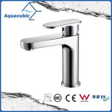 Upc Bathroom Single Handle torneira de lavatório de latão (AF6070-6)