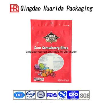 Food Grade Food Packaging Sweet Candy Sugar Plastic Bag