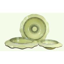 NUEVO tazón de fuente de la hoja de Lotus de la cerámica con estilo clásico de China para BS-H0010
