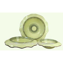 NOVO Ceramic Lotus folha Bowl com estilo clássico da China para BS-H0010