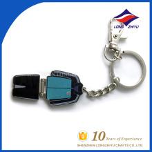 Kundenspezifische Kleidungform keychain neue Artart und weise key chain