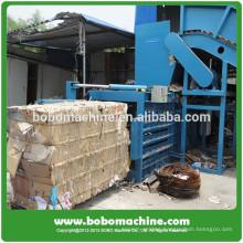Horizontal waste paper baling machine