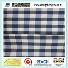 100% Algodón hilado teñido tela de tela escocesa para la camisa (60s * 60s)