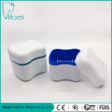 European Type Soap Shape White Denture Box