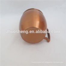 Taza de cobre mula de Moscú estándar Ruso