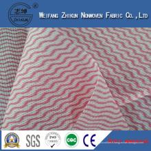 Chine Tissu non-tissé de Spunlace de haute qualité pour le nettoyage de cuisine