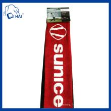 Serviette de golf teint en fil de coton