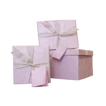 Boîtes cadeaux en papier imprimé avec Robbin