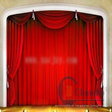 China tragbaren Bühnenvorhang stehen