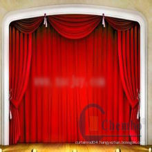 china portable stage curtain stand