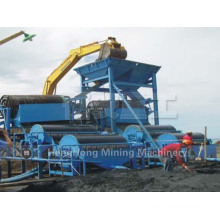 Iron Ore Processing Plant, Wet Drum Type Magnetic Separator