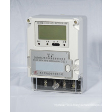 Single Phase Smart Fee Control Electric Power Meter with Multi-Tariff