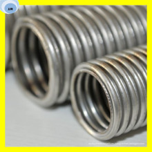 Manguera de acero industrial personalizada de la manguera del metal Manguera de acero austenítica