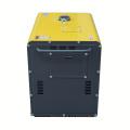 Generador diesel silencioso portátil de 5KVA refrigerado por aire