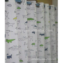 outdoor fabric kids cartoon canvas curtain