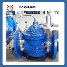 Adjustable water pressure reducing valve strainless steel pipe